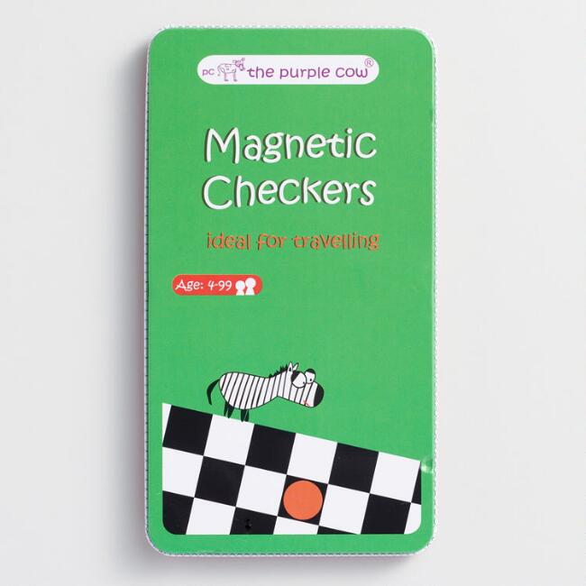 Checkers Travel Game