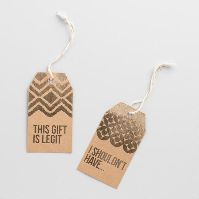 Solstice I Shouldn't Have Gift Tags 12 Pack