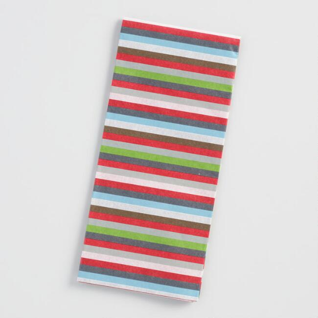 Snowbird Stripes Tissue Paper Set of 4