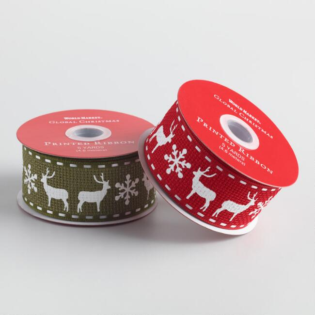 Reindeer Ribbon 2 Pack