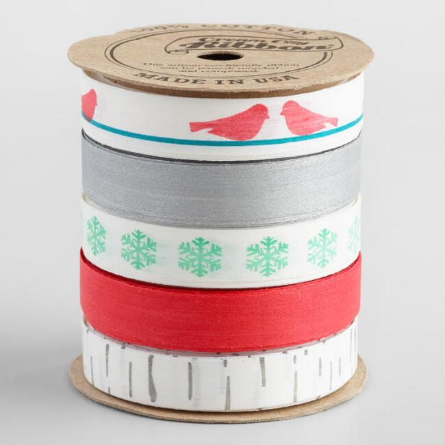 Snowbird Cotton Ribbon 5 Pack
