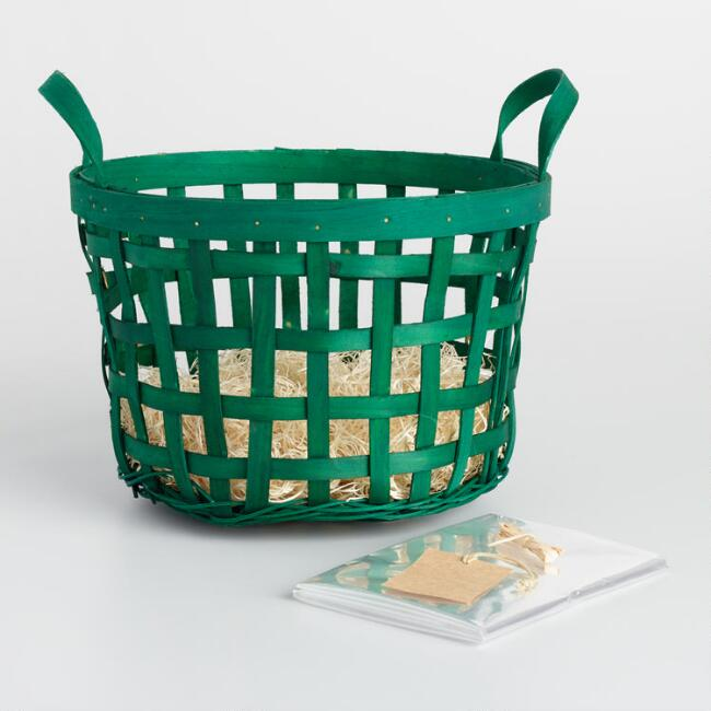 Green Apple Basket Kit