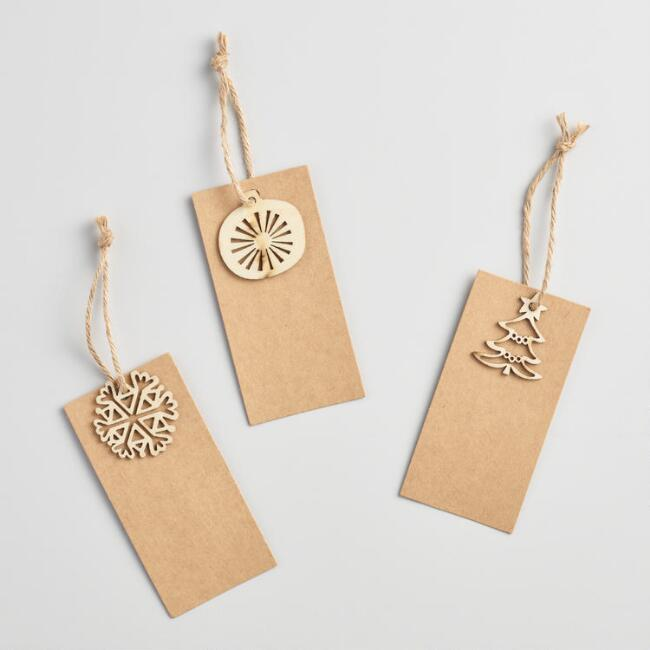 Laser Cut Gift Tags Set of 3