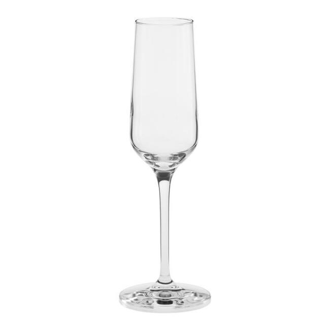 Vintner Champagne Flute Glasses Set of 6