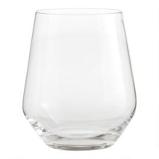 3552483b2fe Vintner Stemless Wine Glasses Set of 6