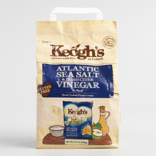 Keogh's Atlantic Sea Salt and Irish Cider Vinegar Chips