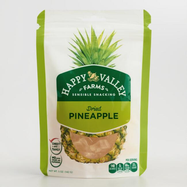 Happy Valley Farms Dried Pineapple