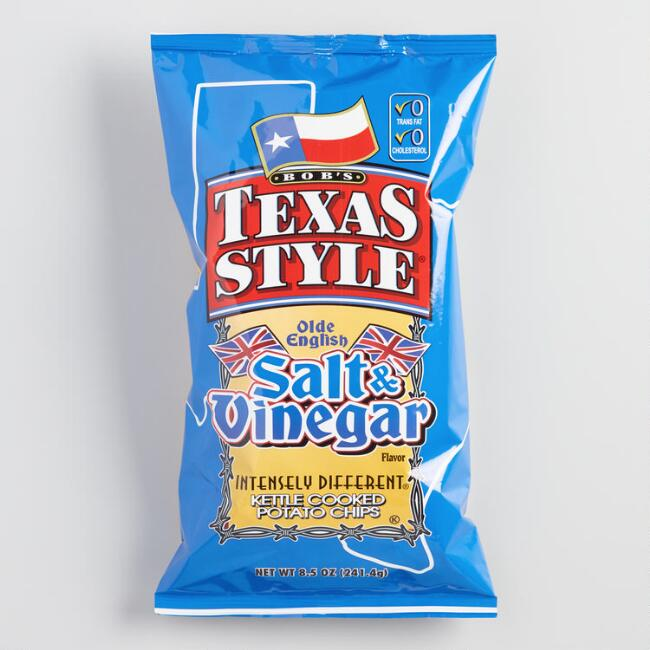 Bob's Texas Salt Vinegar Chips