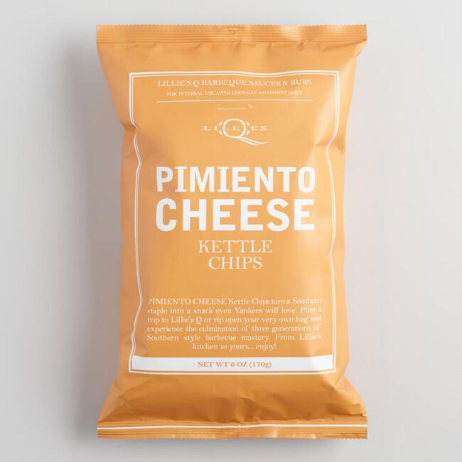 Lillie's Q Pimiento Cheese Kettle Chips