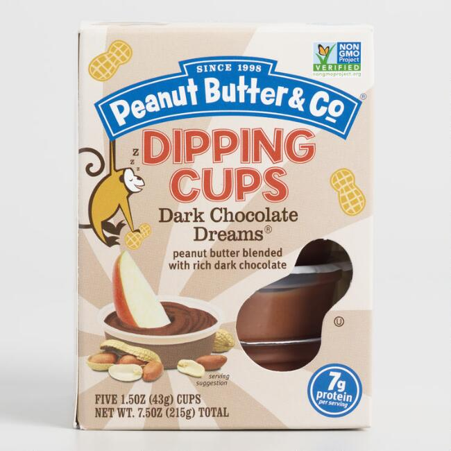 Peanut Butter and Co. Dark Chocolate Dreams Dipping Cups