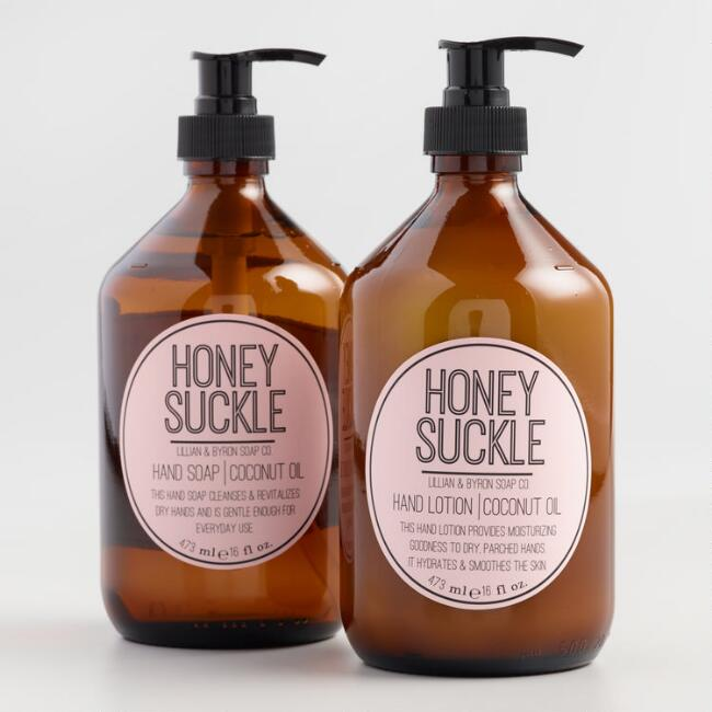 Lillian & Byron Honeysuckle Hand Care Collection
