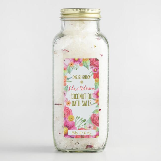 English Garden Lilac Blossom Bath Salts