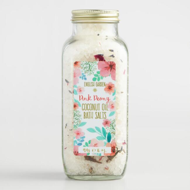 English Garden Pink Peony Bath Salts