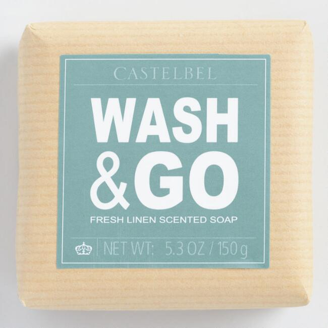 Castelbel Wash and Go Linen Bar Soap
