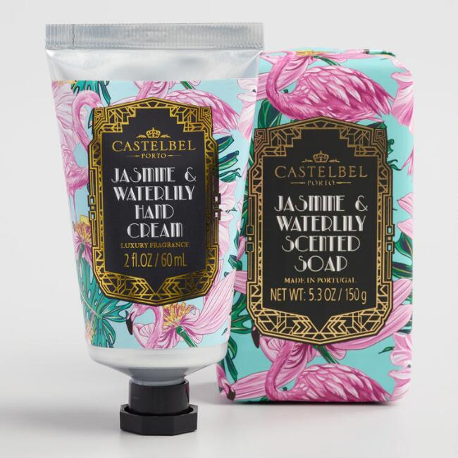 Castelbel Tropical Deco Waterlily Bath and Body Collection