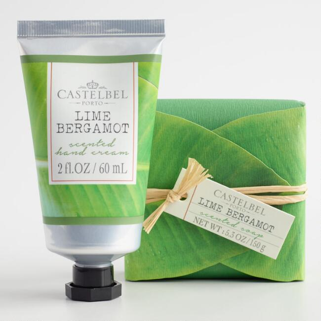 Castelbel Lime Bergamot Bath and Body Collection