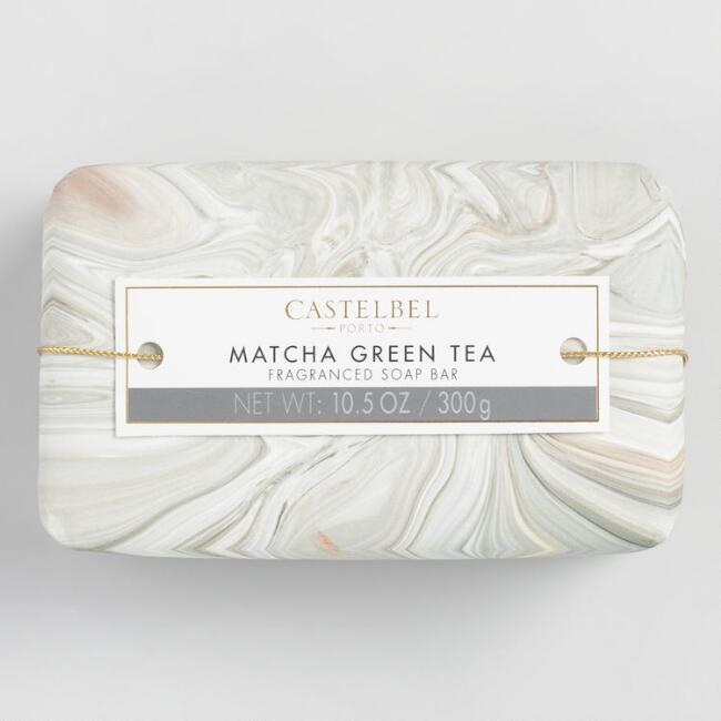 Castelbel Marble Matcha Green Tea Bar Soap