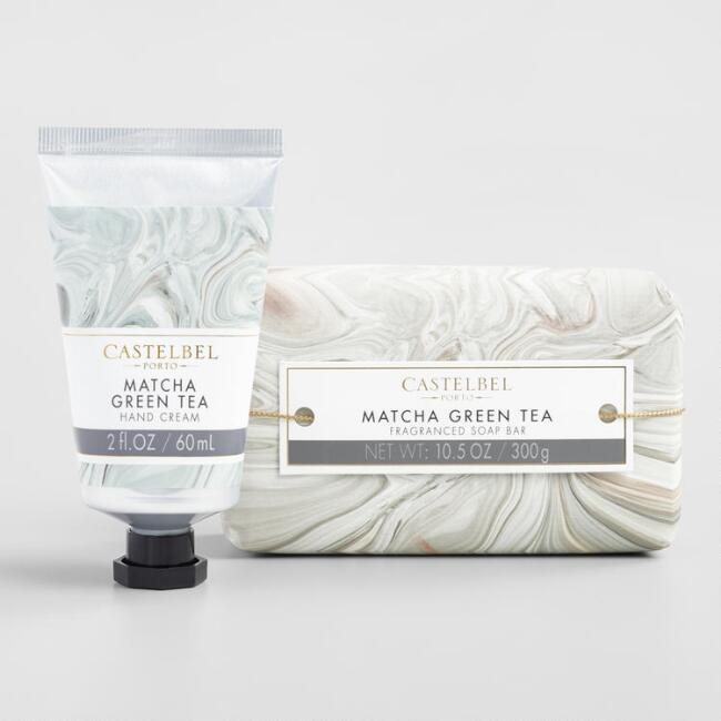 Castelbel Marble Matcha Green Tea Bath and Body Collection
