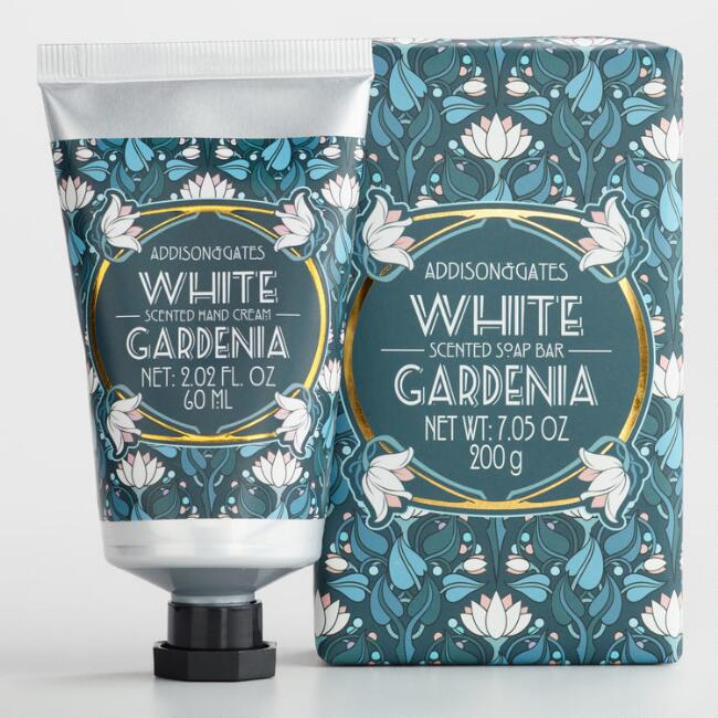 A&G Deco White Gardenia Bath and Body Collection