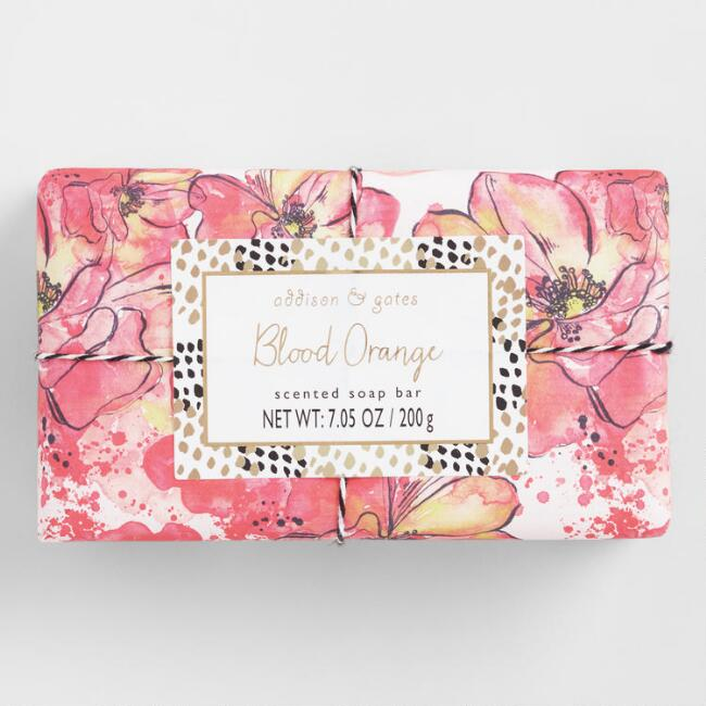A&G Collage Blood Orange Bar Soap