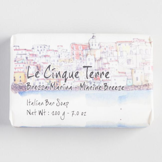 Cinque Terre Marine Breeze Bar Soap
