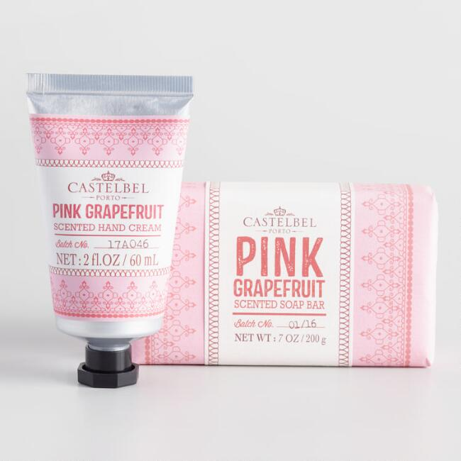 Castelbel Mehndi Pink Grapefruit Bath and Body Collection