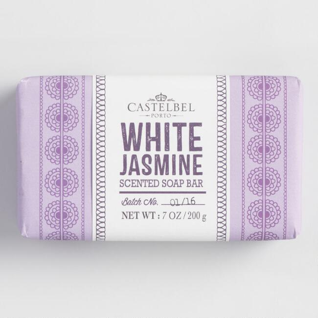 Castelbel Mehndi White Jasmine Bar Soap