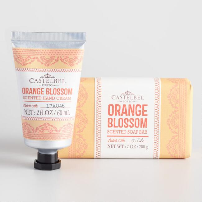 Castelbel Mehndi Orange Blossom Bath and Body Collection
