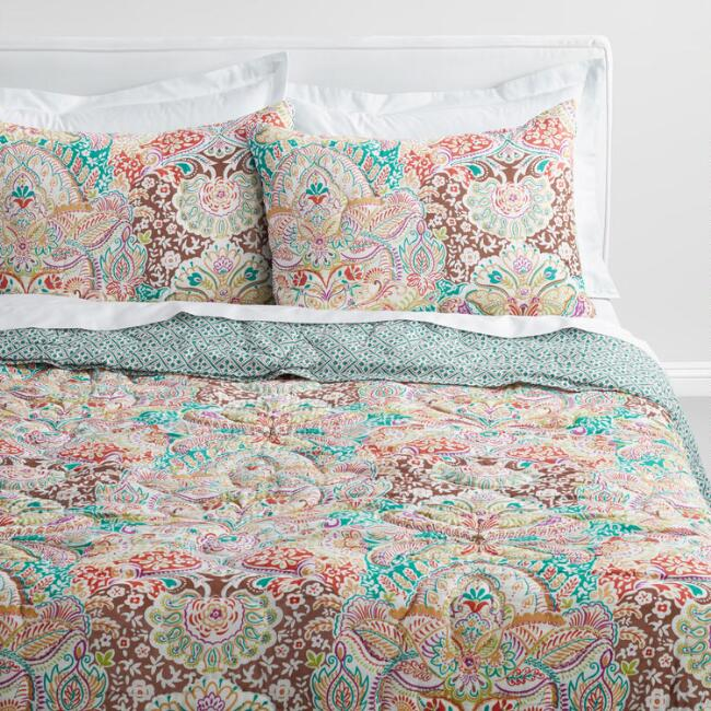 Indian Damask Gianna Bedding Collection