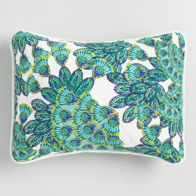 design peacock in pillows maharam pd throws pillow main blankets accessories within reach