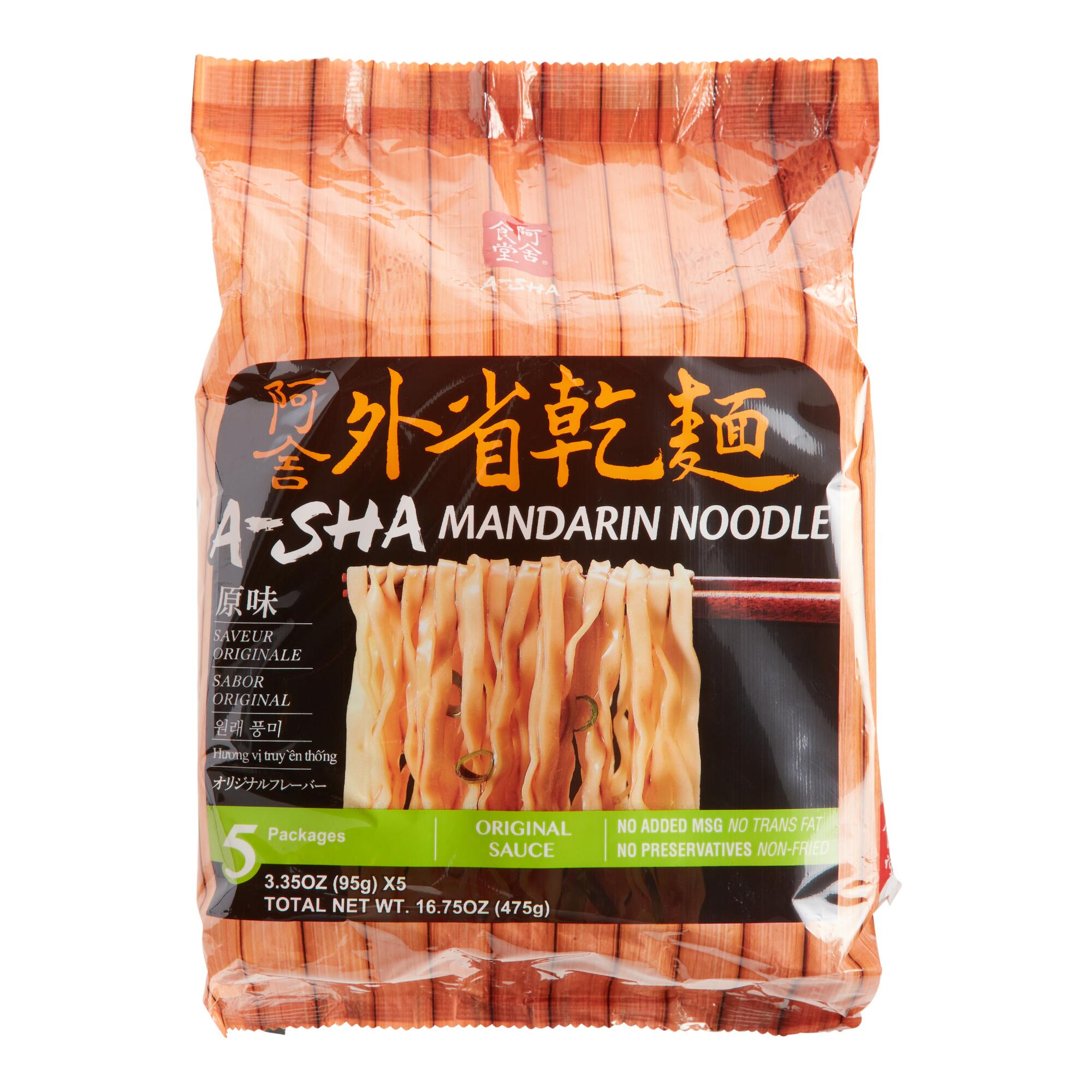 A-Sha Original Mandarin Noodles by World Market