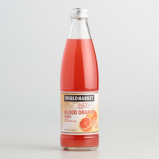 World Market® Blood Orange Italian Soda 12 Oz