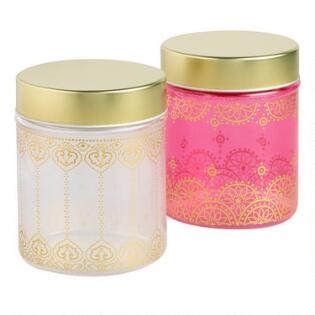 Small Gl Jaipur Storage Containers Set Of 2