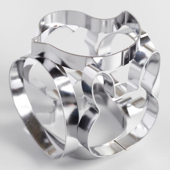 Spring Shapes Stainless Steel Cookie Cutter Cube