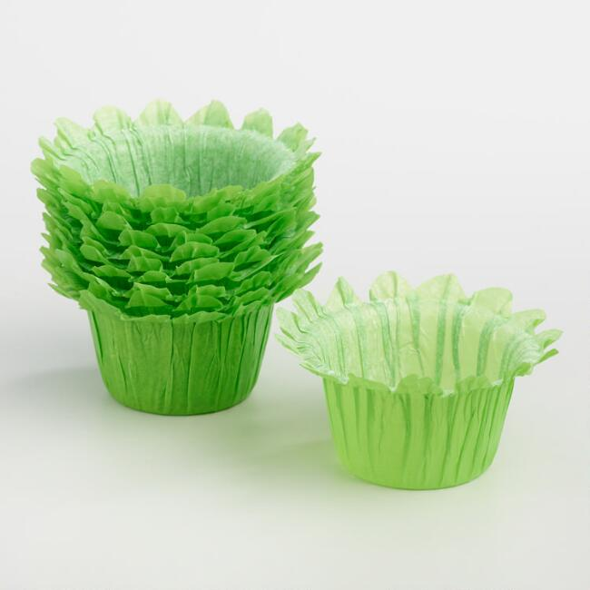 Green Grass Cupcake Liners 12 Count