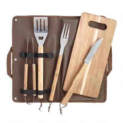 Barbecue Tool 6 Piece Gift Set