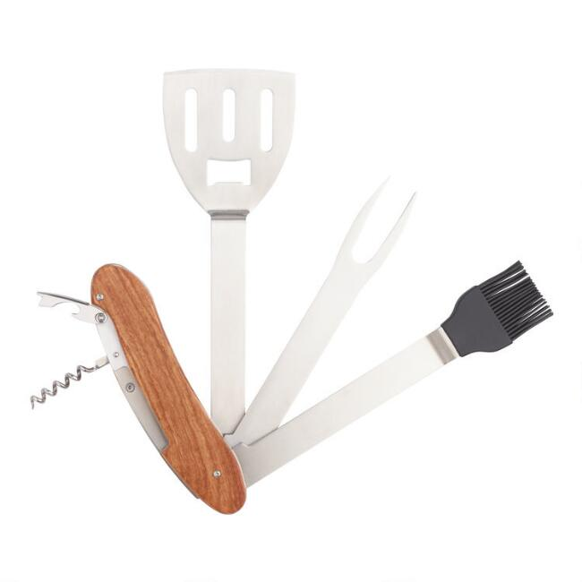 5 in 1 Barbecue Tool