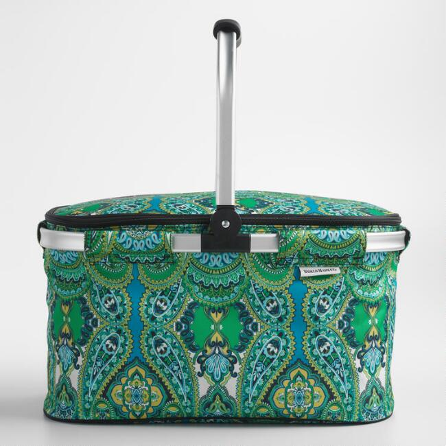 Venice Paisley Insulated Collapsible Tote Bag