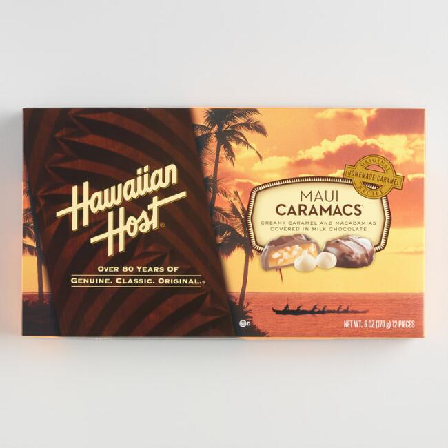 Hawaiian Host Maui Caramacs Box
