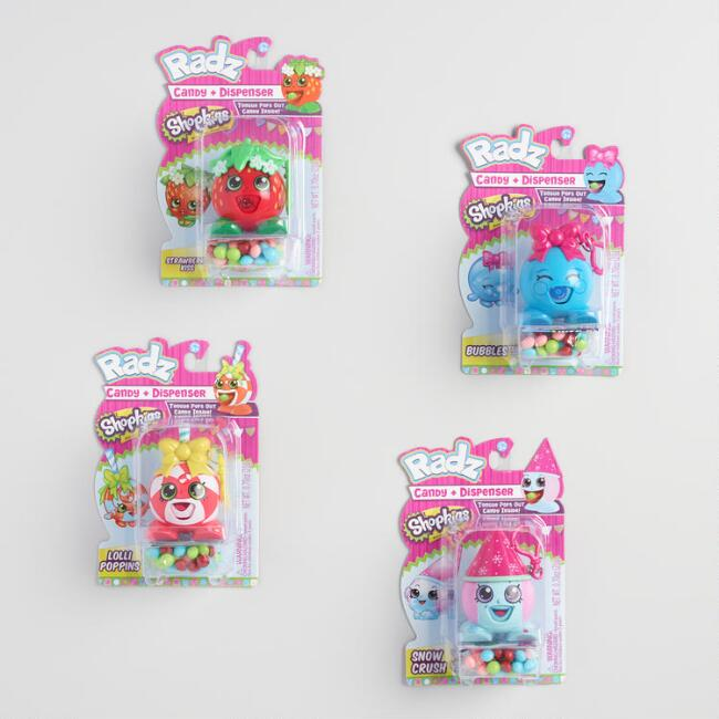 Shopkins Radz Candy Dispenser