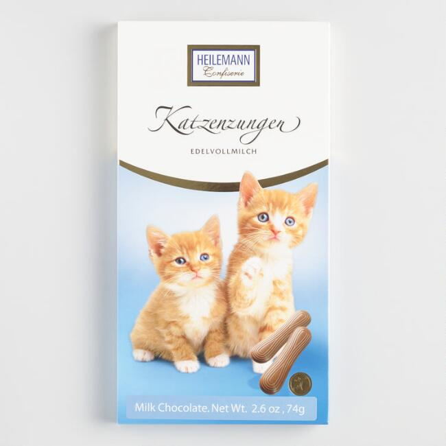 Heilemann Milk Chocolate Cat Tongues