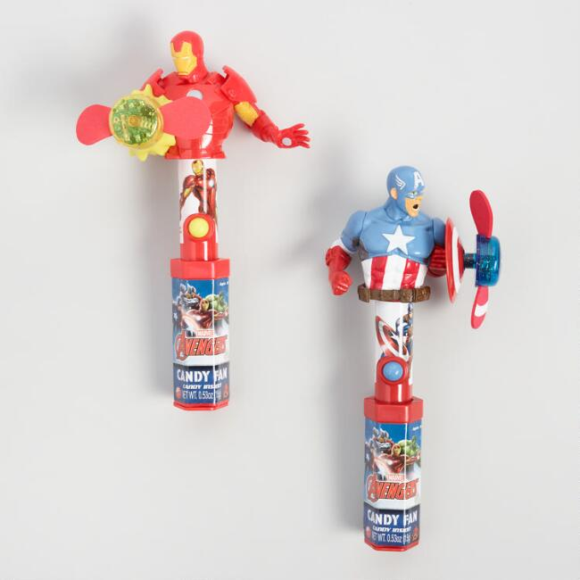 Candyrific Avengers Light Up Candy Fan