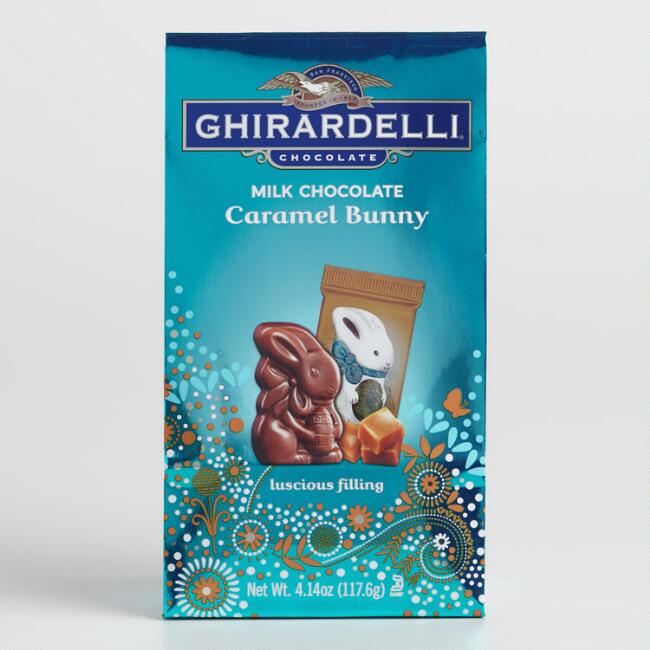 Ghirardelli Milk Chocolate  Caramel Bunnies