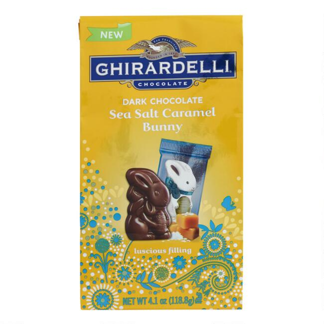 Ghirardelli Dark Chocolate Caramel Bunnies