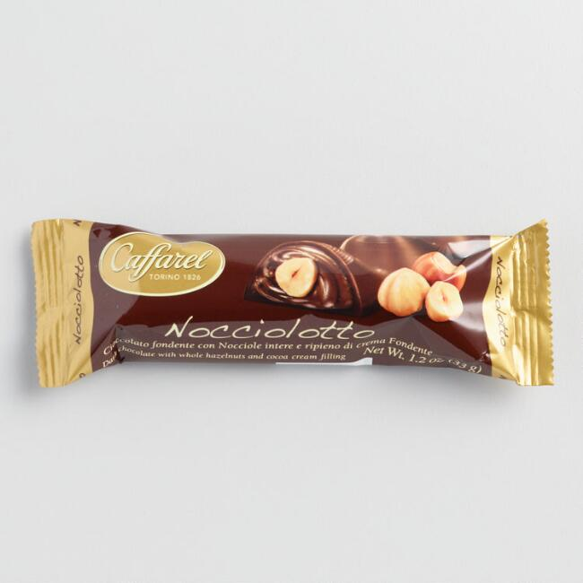 Caffarel Nocciolotto Dark Chocolate Bar