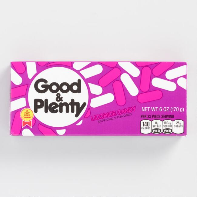 Good & Plenty Theater Box