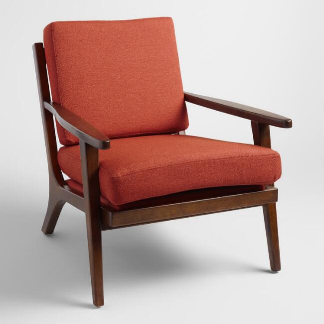 Poppy Red Xander Armchair