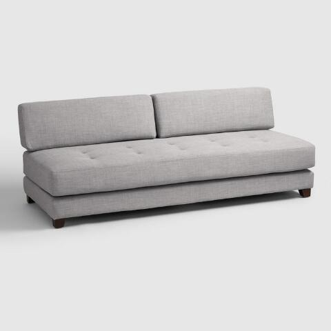 Light Gray Hartley Upholstered Duet