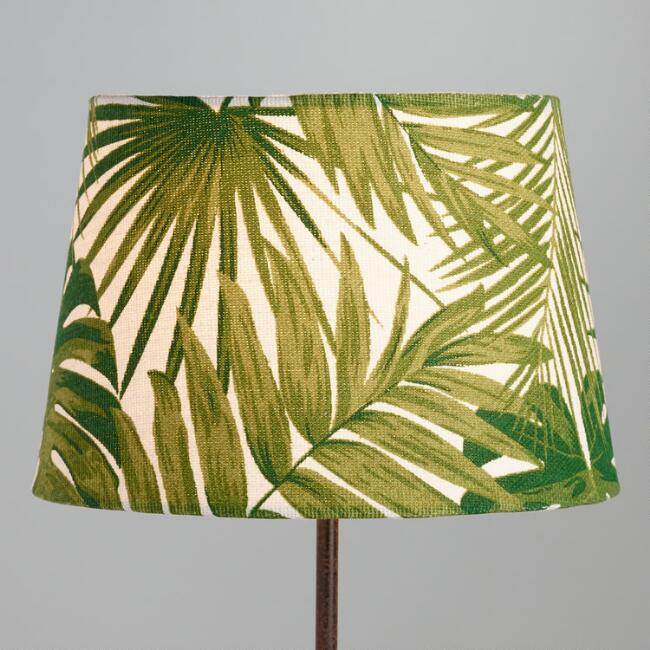Jungle print cotton accent lamp shade world market mozeypictures