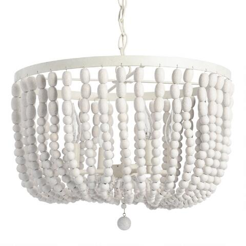 beaded bead white ne design washed grande chandelier interior products mint